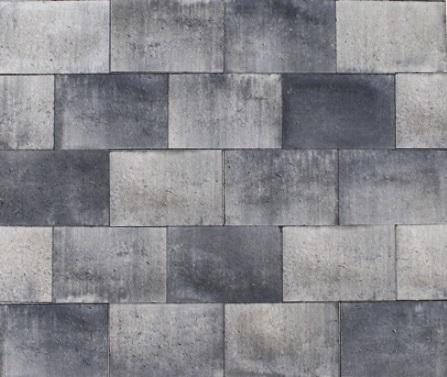 Puras grijs zwart 30x20x6