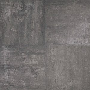 Luxe Tuintegel Zwart Grijs 60x60x5